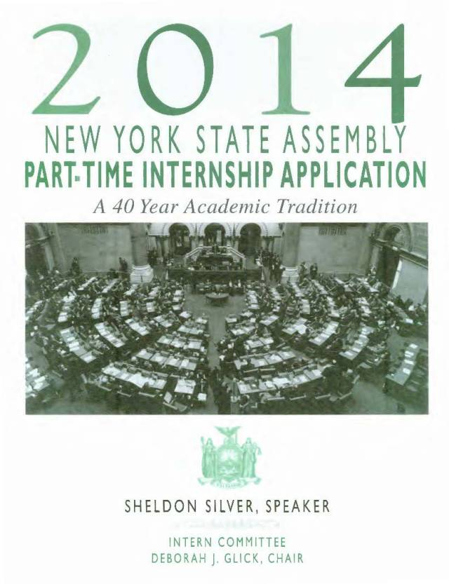 Volunteer At the NYS Assembly Earn RSSW Credits