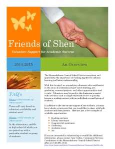 Friends of Shen flyer 2014-15