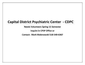 Capital District Psychiatric Center