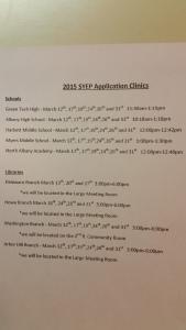 Albany SYEP Applications Clinic