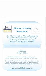 The Poverty Simulation