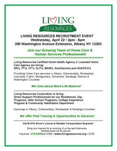 LIVING RESOURCES RECRUITMENT EVENT