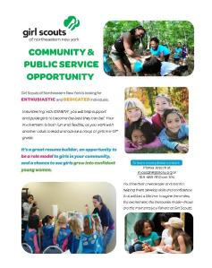 Girl Scouts for RSSW