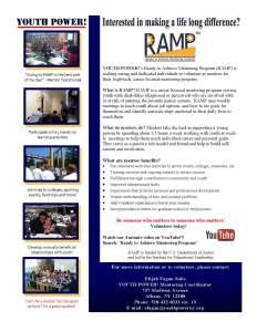 RAMP Mentors