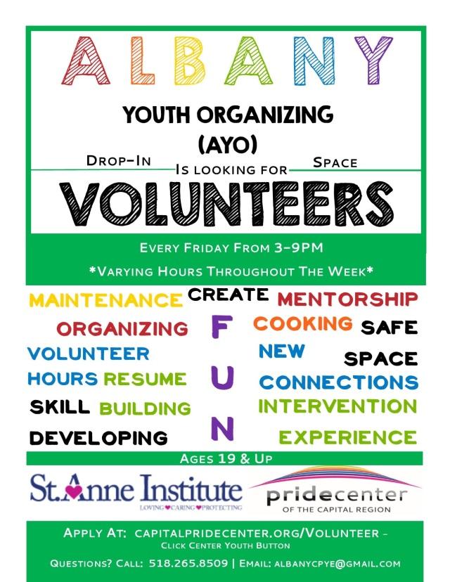 AYO Volunteer Flyer